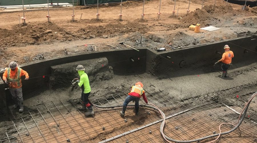 Construction Update – New Larger Pool