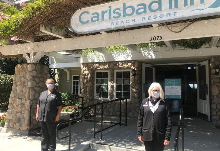 Carlsbad Inn Employee Spotlight:  Gloria Perez & Karen Hansen