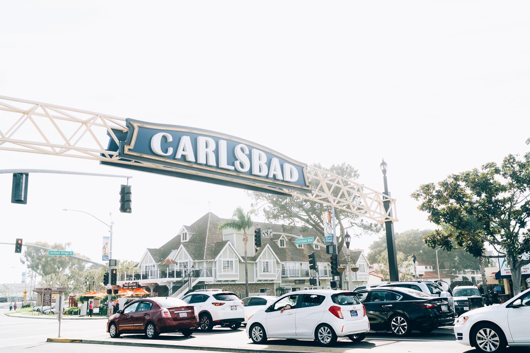 Carlsbad Village Sign