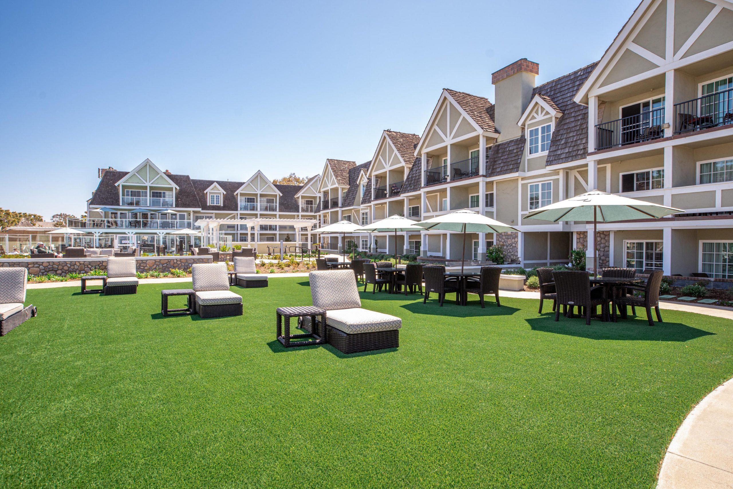 Hotel Resort Courtyard Lounge Furniture