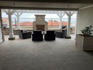 Oak Condominium Timeshare Fireplace